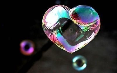 Heart Shaped Bubble
