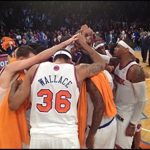 2012-2013 Knicks Huddle