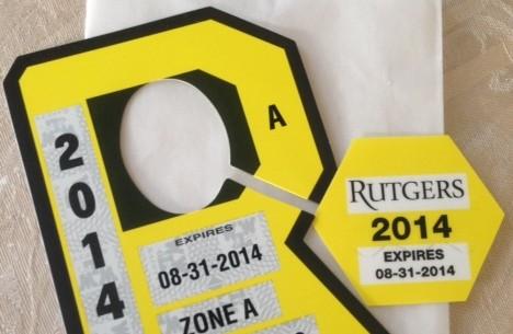 Rutgers Parking Permit